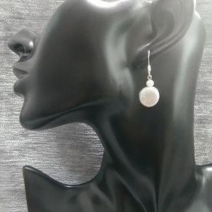 Round Freshwater Pearl Earrings